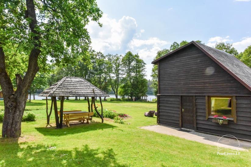 Lauku sēta pie ezera Ignalinas rajonā, Lietuvā - 5