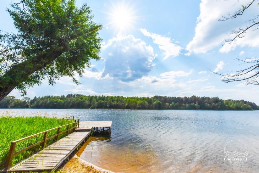 Lauku sēta pie ezera Ignalinas rajonā, Lietuvā - 8