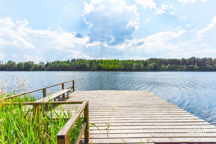 Lauku sēta pie ezera Ignalinas rajonā, Lietuvā - 9