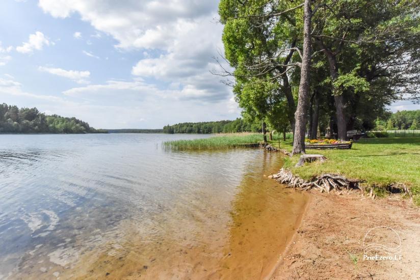 Lauku sēta pie ezera Ignalinas rajonā, Lietuvā - 10
