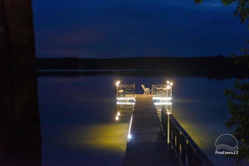 Brīvdienu māja mierīgai atpūtai ezera krastā Moletai, Lietuvā - 1