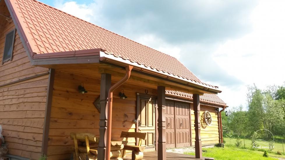 Brīvdienu māja mierīgai atpūtai ezera krastā Moletai, Lietuvā - 3
