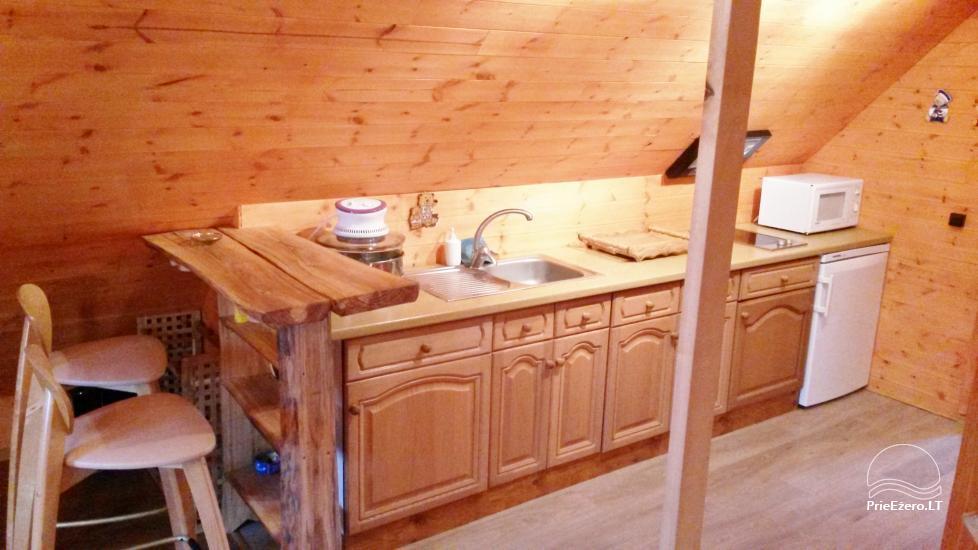 Brīvdienu māja mierīgai atpūtai ezera krastā Moletai, Lietuvā - 10