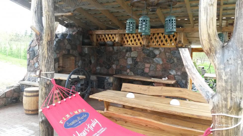 Brīvdienu māja mierīgai atpūtai ezera krastā Moletai, Lietuvā - 11