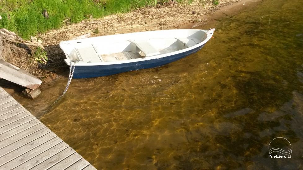 Brīvdienu māja mierīgai atpūtai ezera krastā Moletai, Lietuvā - 9