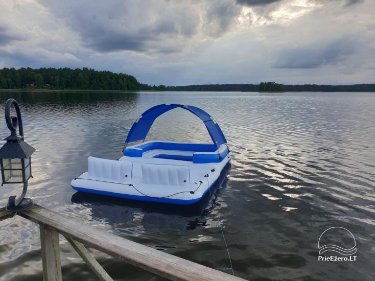 Brīvdienu māja mierīgai atpūtai ezera krastā Moletai, Lietuvā - 4