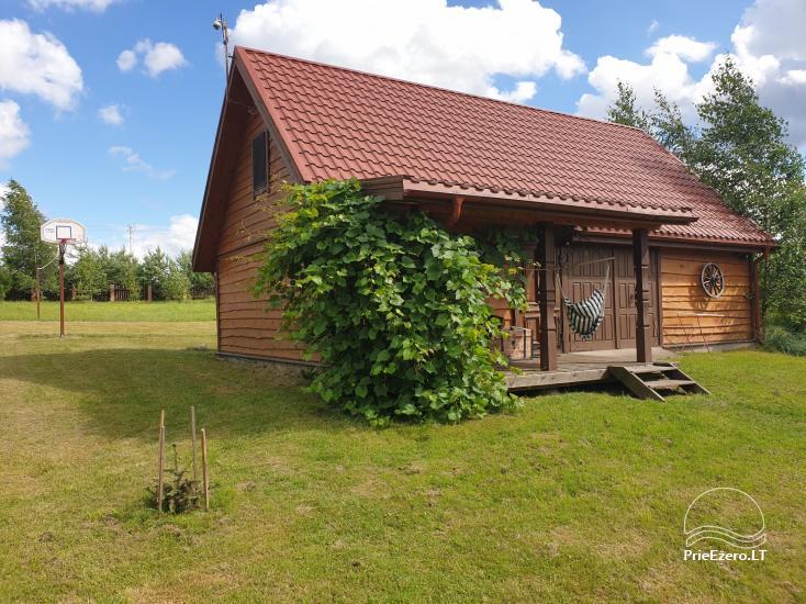 Brīvdienu māja mierīgai atpūtai ezera krastā Moletai, Lietuvā - 2