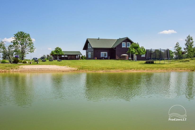 Brīvdienu mājas setā Puodziu kaimas Utenas rajonā, Lietuvā - 3