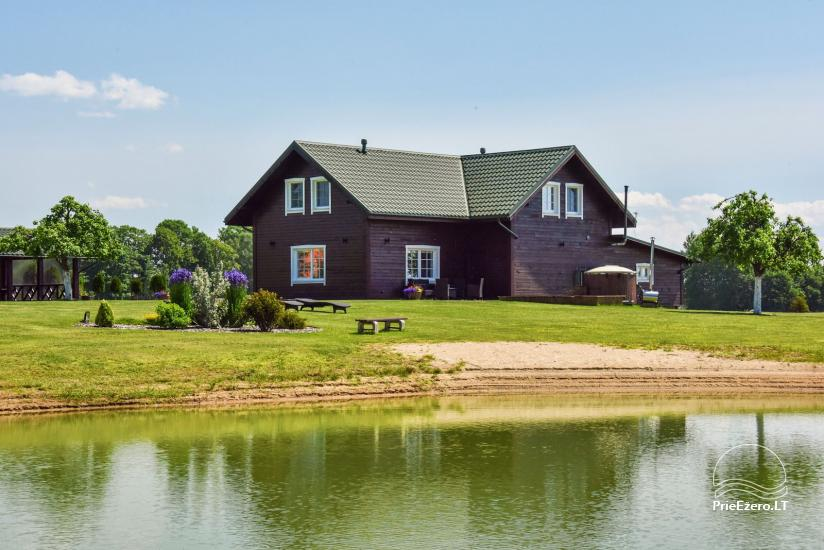 Brīvdienu mājas setā Puodziu kaimas Utenas rajonā, Lietuvā - 1