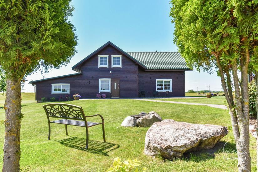 Brīvdienu mājas setā Puodziu kaimas Utenas rajonā, Lietuvā - 18