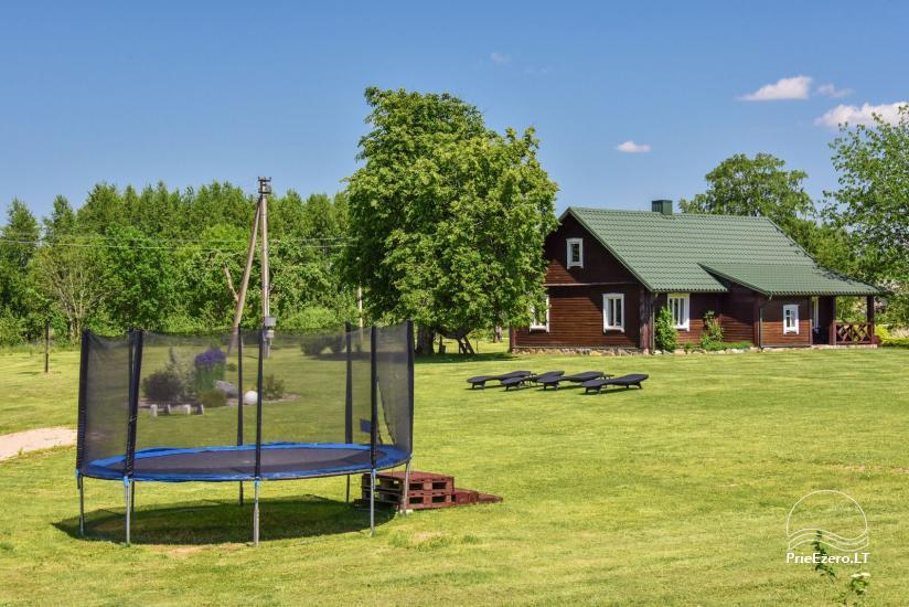 Brīvdienu mājas setā Puodziu kaimas Utenas rajonā, Lietuvā - 52
