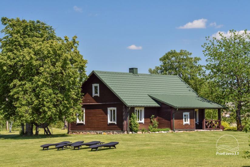Brīvdienu mājas setā Puodziu kaimas Utenas rajonā, Lietuvā - 53