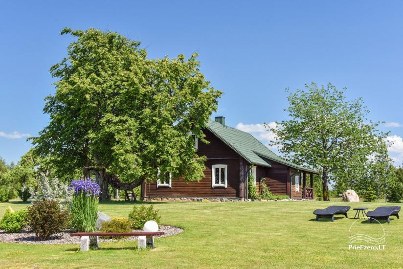 Brīvdienu mājas setā Puodziu kaimas Utenas rajonā, Lietuvā - 54