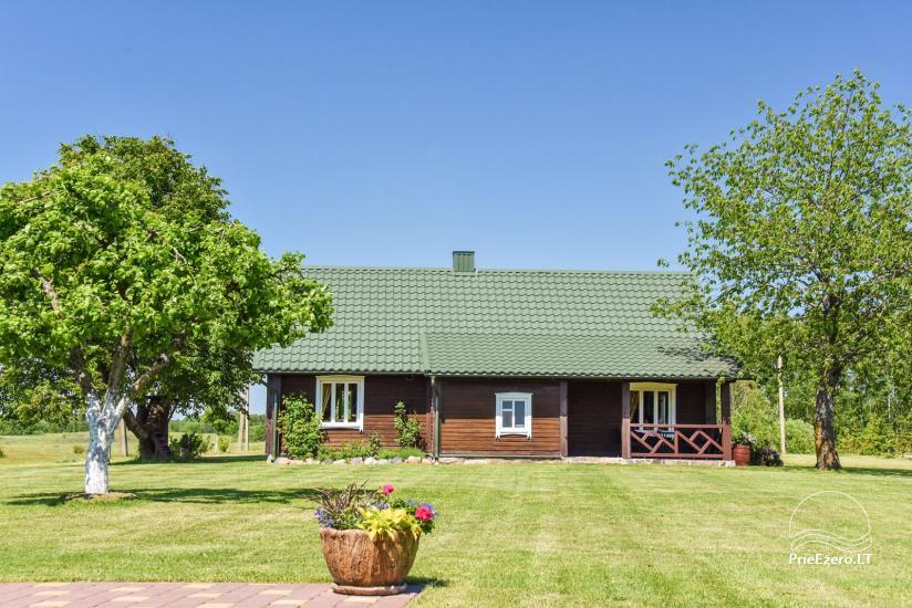 Brīvdienu mājas setā Puodziu kaimas Utenas rajonā, Lietuvā - 55