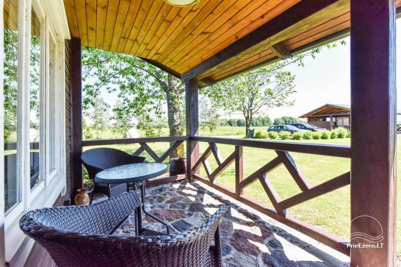 Brīvdienu mājas setā Puodziu kaimas Utenas rajonā, Lietuvā - 56