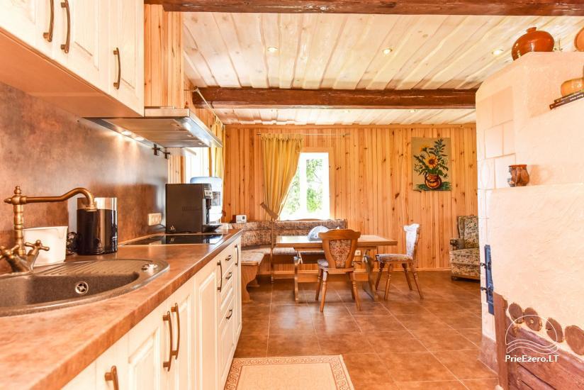 Brīvdienu mājas setā Puodziu kaimas Utenas rajonā, Lietuvā - 62