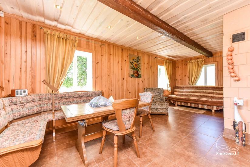 Brīvdienu mājas setā Puodziu kaimas Utenas rajonā, Lietuvā - 63