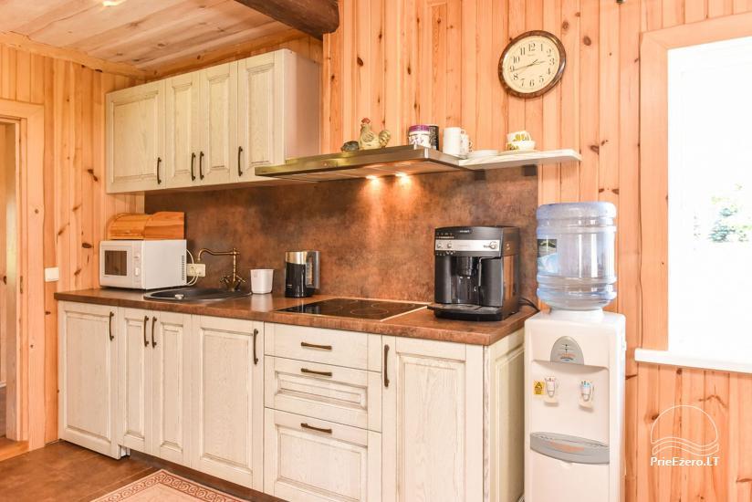 Brīvdienu mājas setā Puodziu kaimas Utenas rajonā, Lietuvā - 65