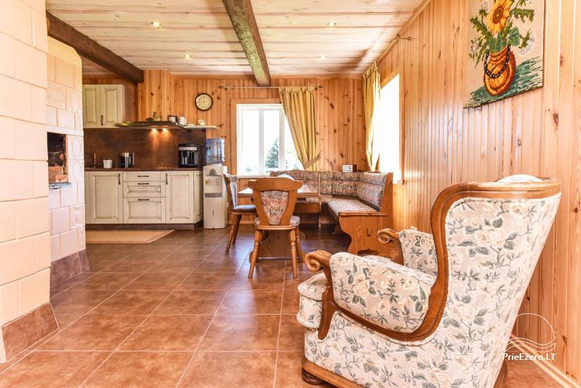 Brīvdienu mājas setā Puodziu kaimas Utenas rajonā, Lietuvā - 64
