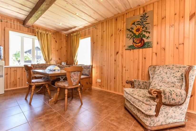 Brīvdienu mājas setā Puodziu kaimas Utenas rajonā, Lietuvā - 66