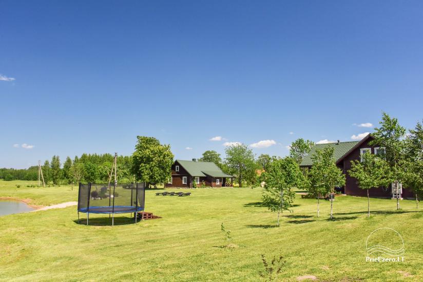 Brīvdienu mājas setā Puodziu kaimas Utenas rajonā, Lietuvā - 4