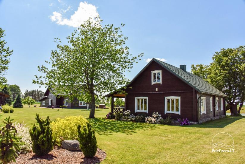 Brīvdienu mājas setā Puodziu kaimas Utenas rajonā, Lietuvā - 14