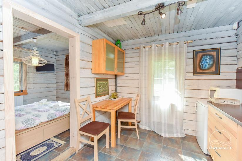 """""""Vila Tauragnas"""" - villa un mazas mājas ezera krastā - 43"""