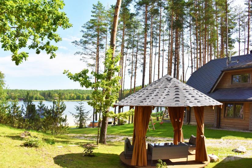 """""""Vila Tauragnas"""" - villa un mazas mājas ezera krastā - 50"""