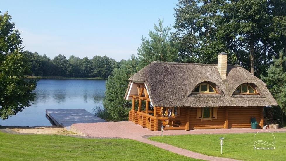 Sēta ezera krastā Pas Vytautą - 2