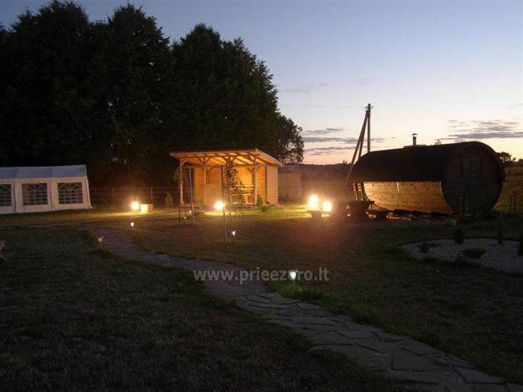 Naktsmītnes pie ezera Viļņas reģionā, Lietuvā - 6