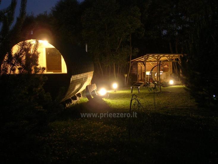 Naktsmītnes pie ezera Viļņas reģionā, Lietuvā - 9