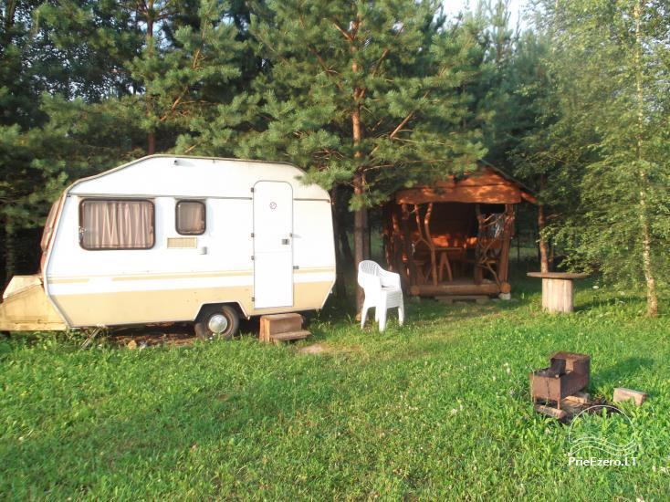 Lauku sēta Tuvumā dīķī Lietuvā - 10