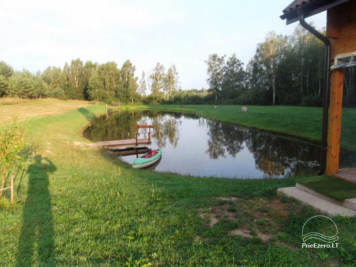 Lauku sēta Tuvumā dīķī Lietuvā - 3