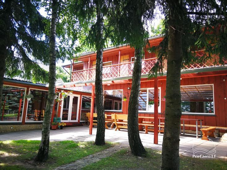 Brīvdienu mājiņas, pirts, baļļa, kajaki, kas sētā pie ezera Dviragis - 40