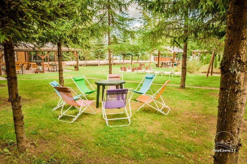 Brīvdienu mājiņas, pirts, baļļa, kajaki, kas sētā pie ezera Dviragis - 59