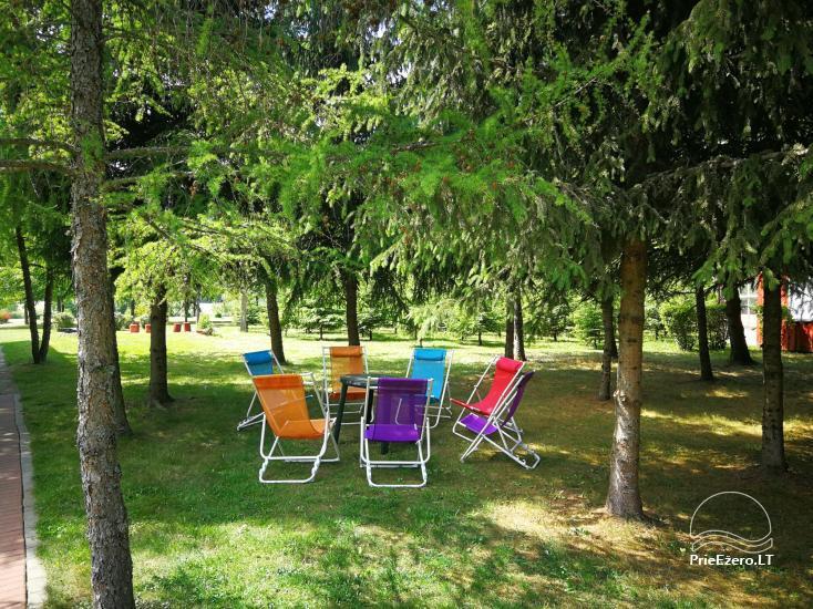 Brīvdienu mājiņas, pirts, baļļa, kajaki, kas sētā pie ezera Dviragis - 63