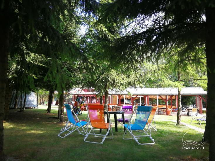 Brīvdienu mājiņas, pirts, baļļa, kajaki, kas sētā pie ezera Dviragis - 67