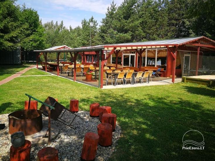 Brīvdienu mājiņas, pirts, baļļa, kajaki, kas sētā pie ezera Dviragis - 68