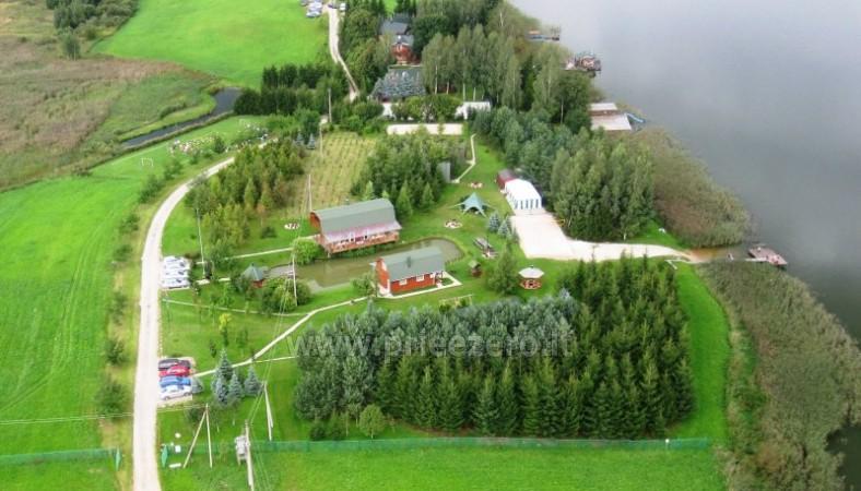 Brīvdienu mājiņas, pirts, baļļa, kajaki, kas sētā pie ezera Dviragis - 26