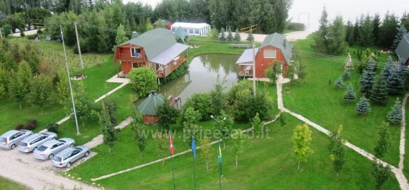 Brīvdienu mājiņas, pirts, baļļa, kajaki, kas sētā pie ezera Dviragis - 28