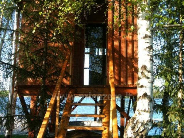Brīvdienu mājiņas, pirts, baļļa, kajaki, kas sētā pie ezera Dviragis - 15