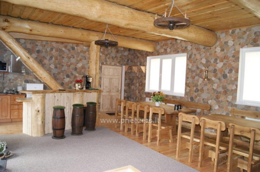 Māja ar pirti, banketu zāli netālu no Baltijas jūras un ezeru - 6