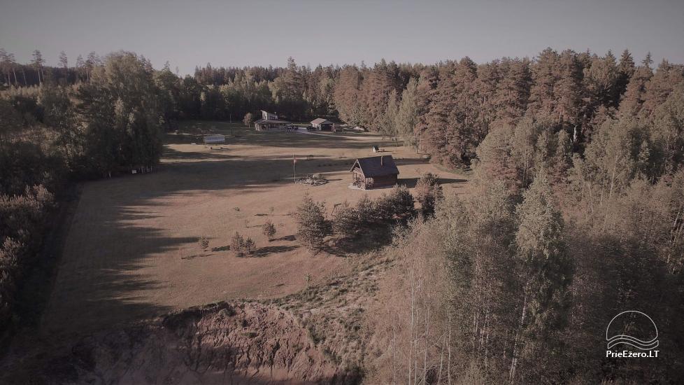 Lauku sēta pie Zarasai novada ezera Dumblynė - 13
