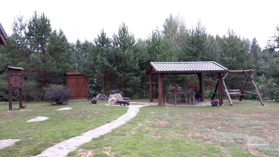 Lauku sēta pie Zarasai novada ezera Dumblynė - 4