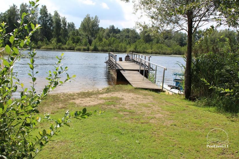 E & M sēta Utena reģions, mierīgas brīvdienas pie ezera - 15