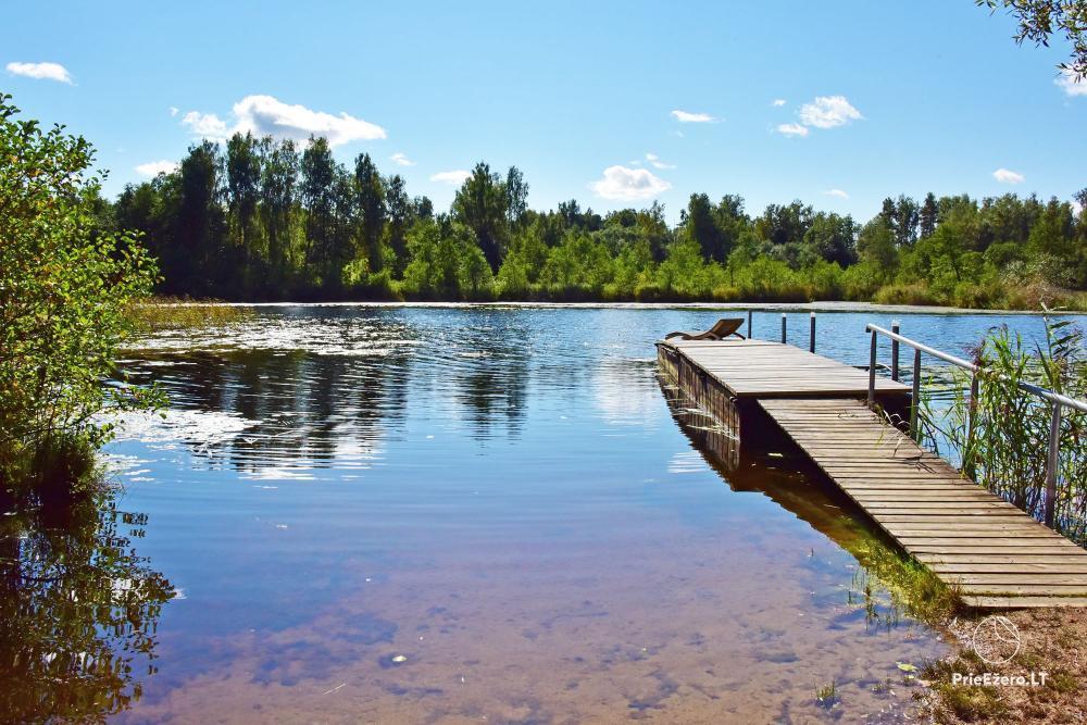 E & M sēta Utena reģions, mierīgas brīvdienas pie ezera - 3