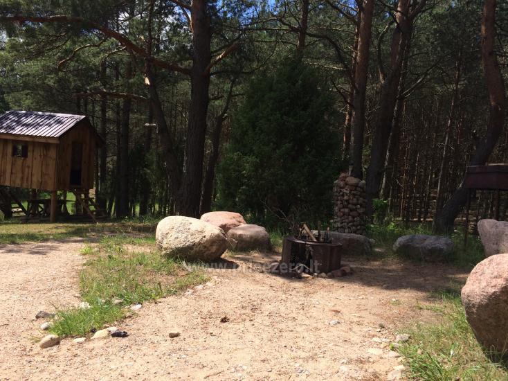 Kempinga un pirts noma pie Ilgis ezera Alytu reionā - 11