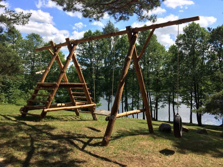 Kempinga un pirts noma pie Ilgis ezera Alytu reionā - 3