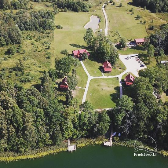Lauku sēta Ignalinas rajonā pie ezera Pakalas - 1