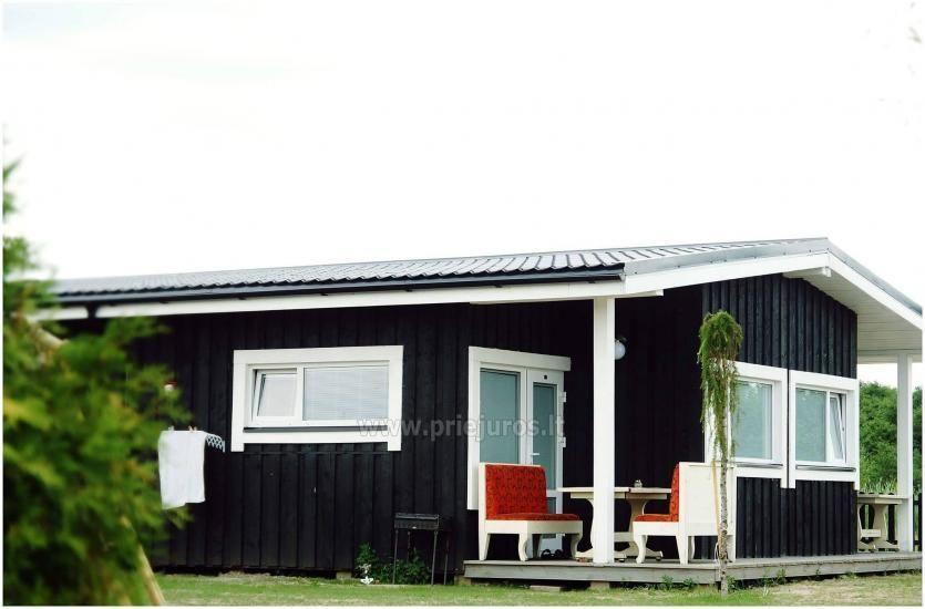 Jaunas vienu i divu istabu koka mājas Sventoji - 1